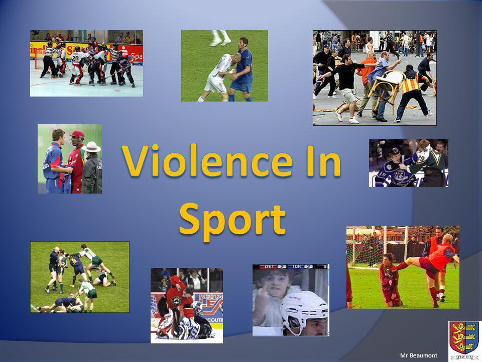 Violence In Sport