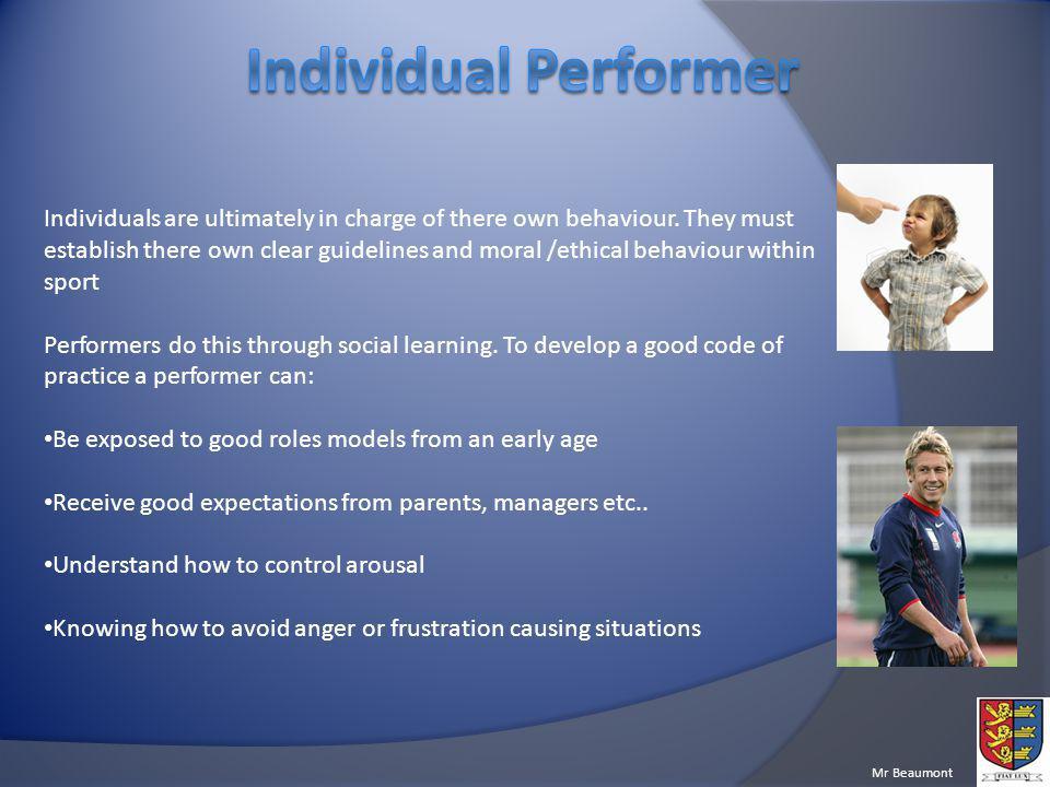 Individual Performer