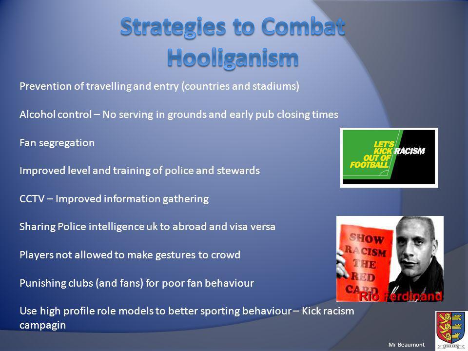 Strategies to Combat Hooliganism