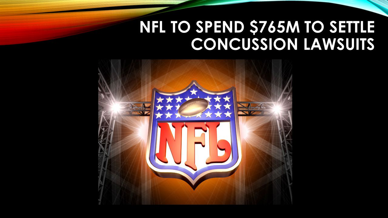 NFL to spend $765M to settle concussion lawsuits