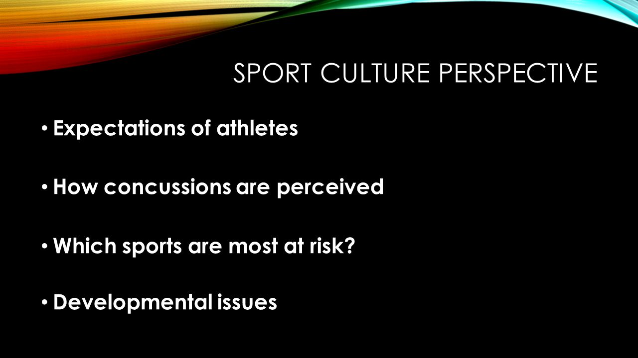 Sport CULTURE perspective