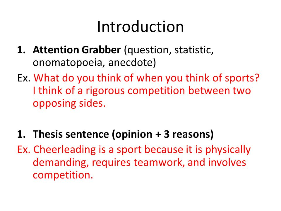 Writing an Argumentative Essay - ppt video online download