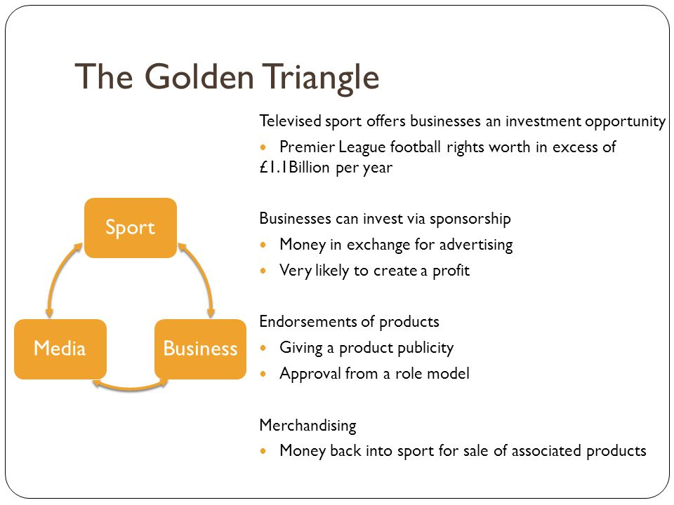 The Golden Triangle Sport Business Media
