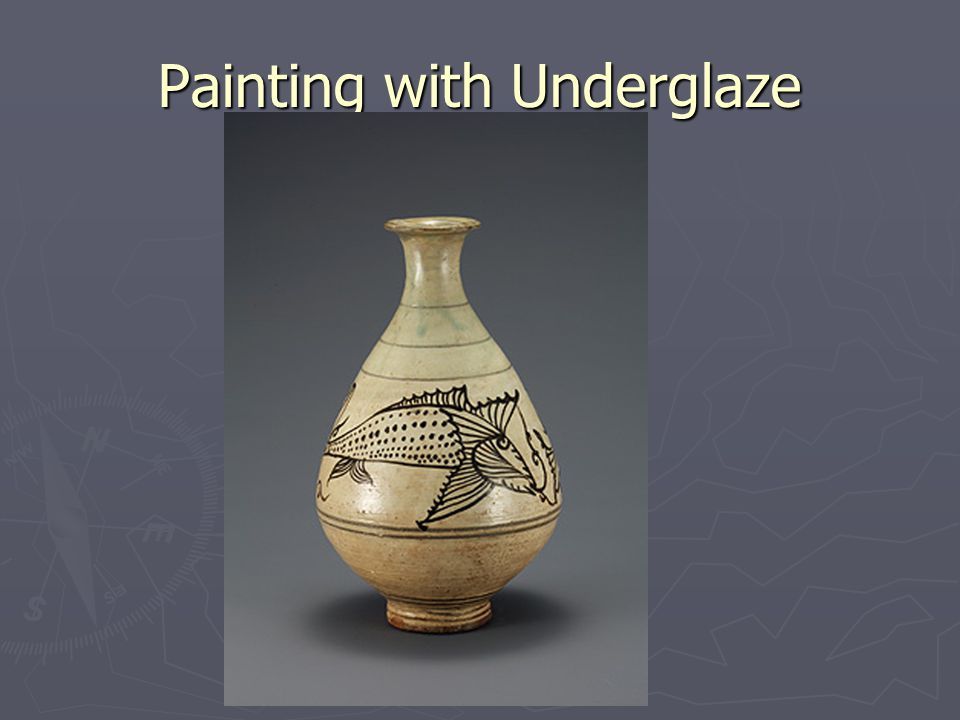 Painting with Underglaze