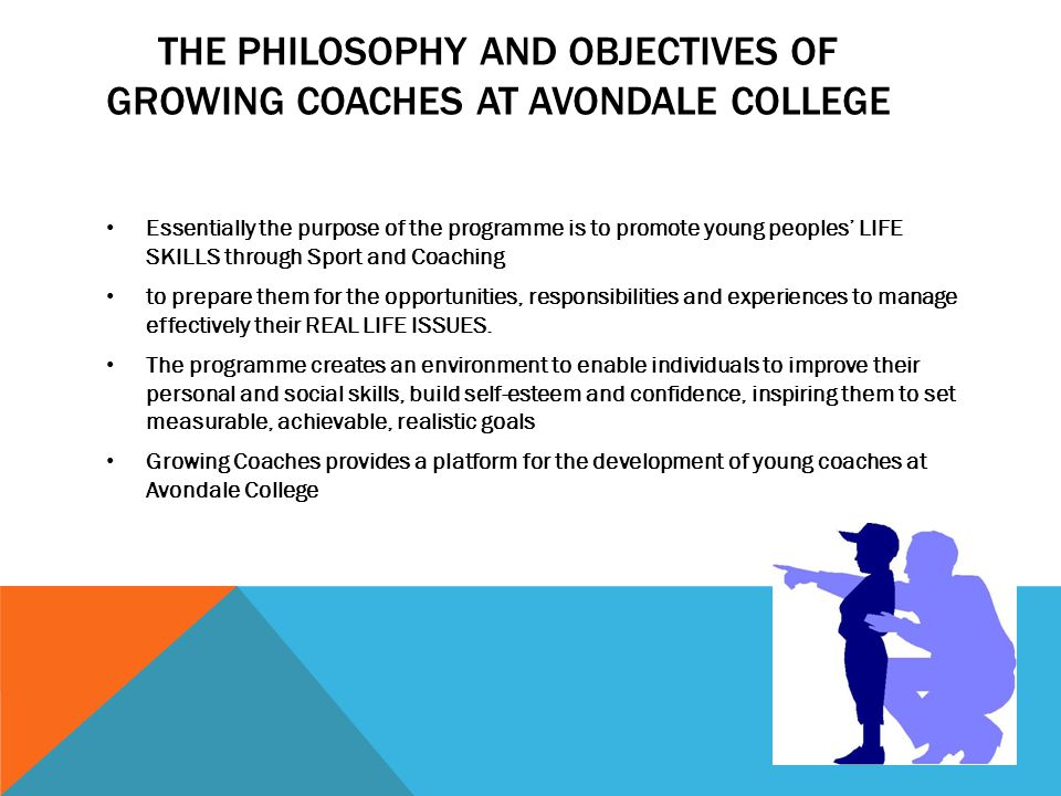 The Philosophy and Objectives of Growing Coaches at Avondale College