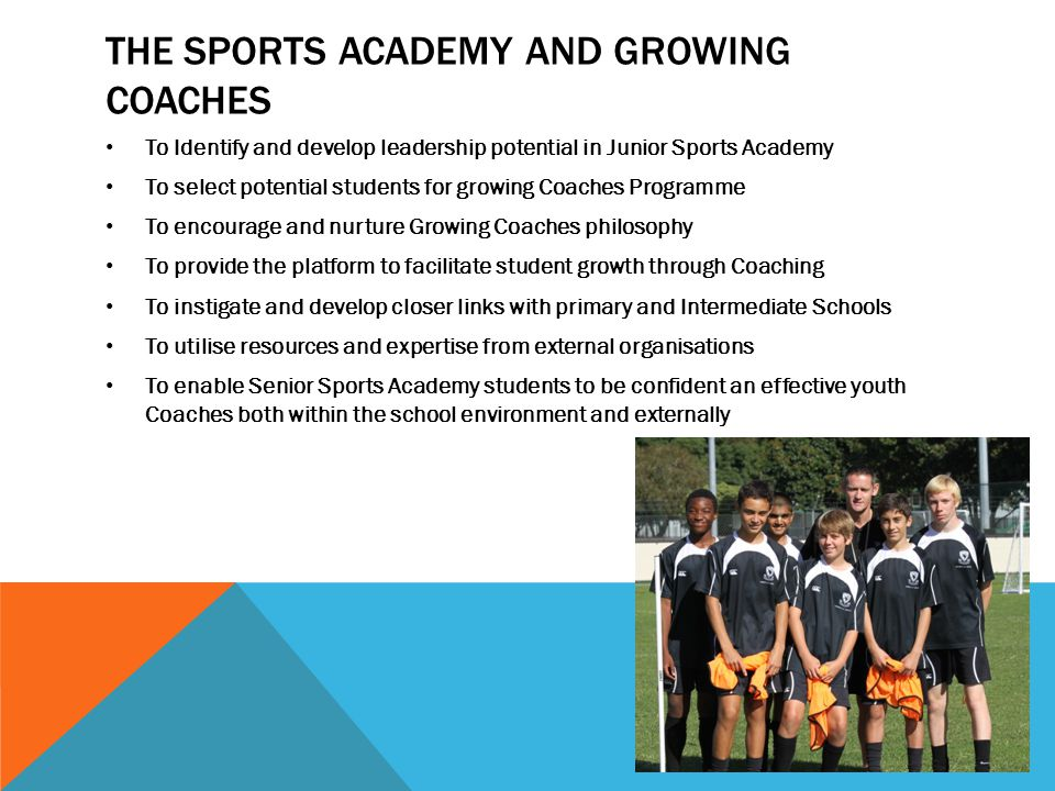 The Sports Academy and growing coaches