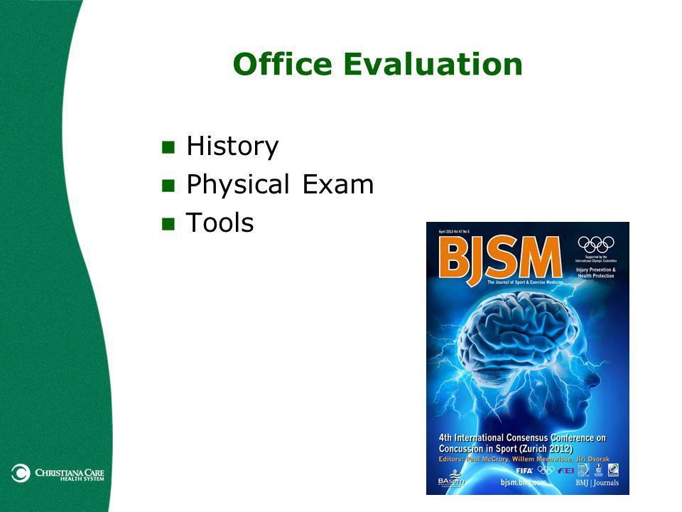 Office Evaluation History Physical Exam Tools