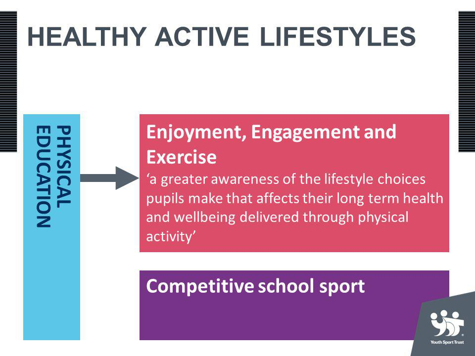 HEALTHY ACTIVE LIFESTYLES