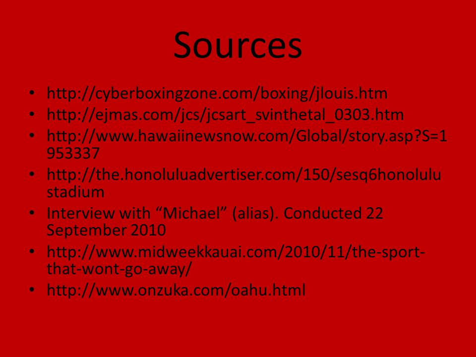 Sources http://cyberboxingzone.com/boxing/jlouis.htm