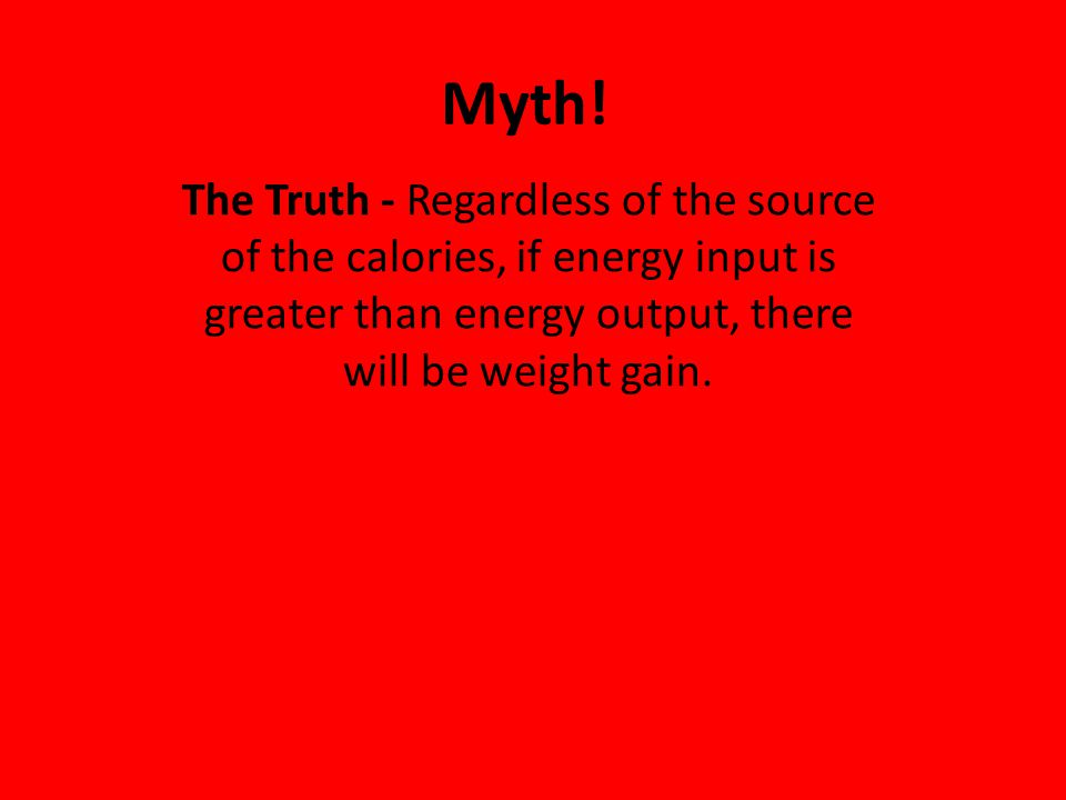 Myth.