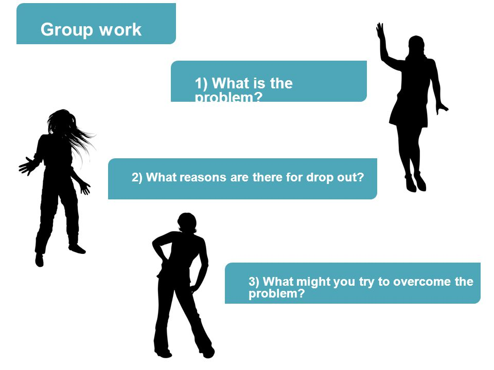 Group work 1) What is the problem