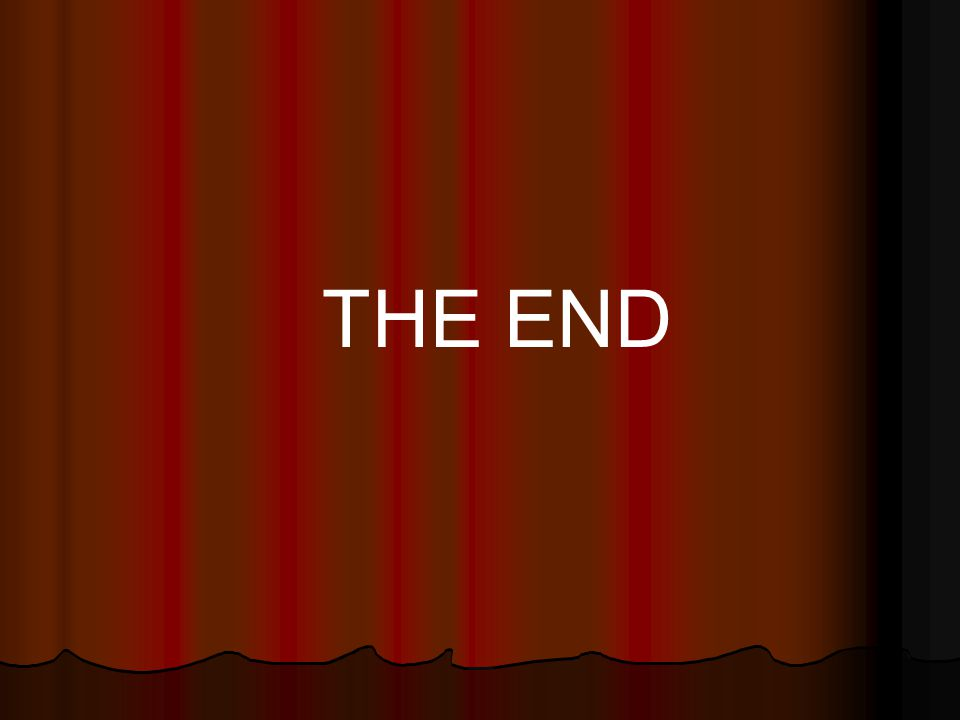 THE END 37