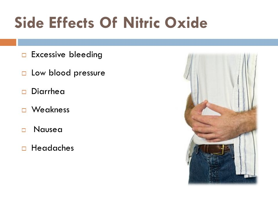 Side Effects Of Nitric Oxide