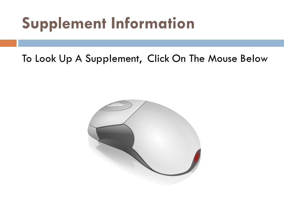 Supplement Information