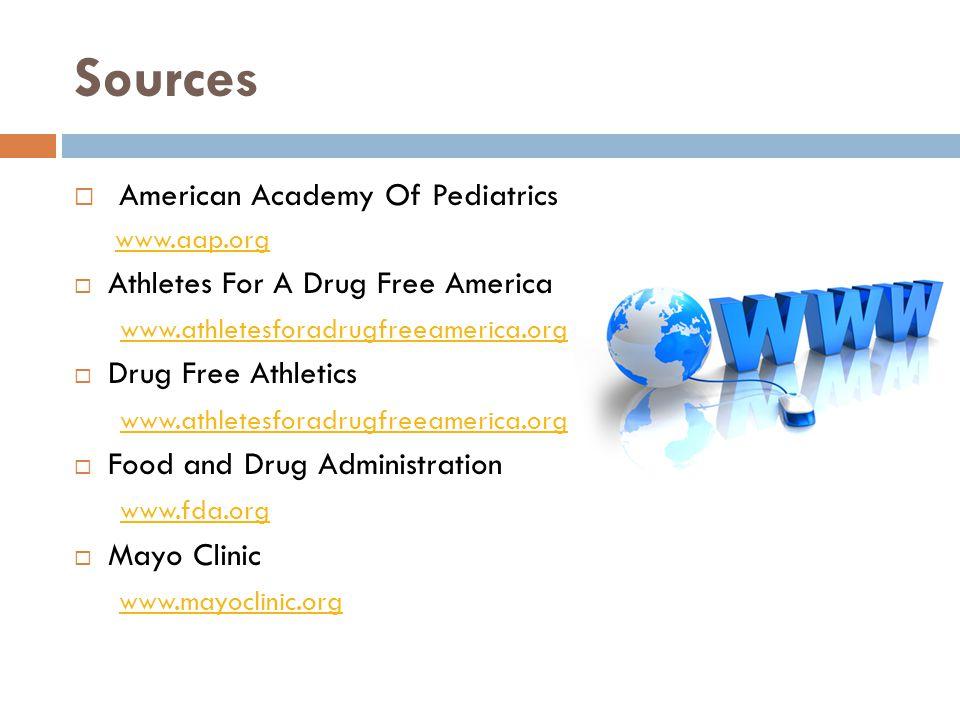 Sources American Academy Of Pediatrics