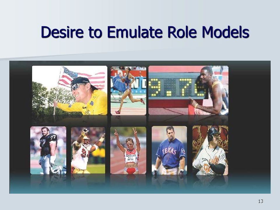 Desire to Emulate Role Models