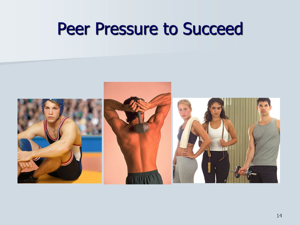 Peer Pressure to Succeed