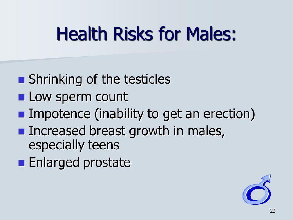 Health Risks for Males:
