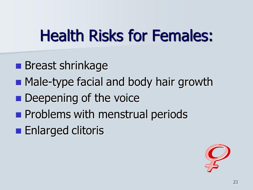 Health Risks for Females: