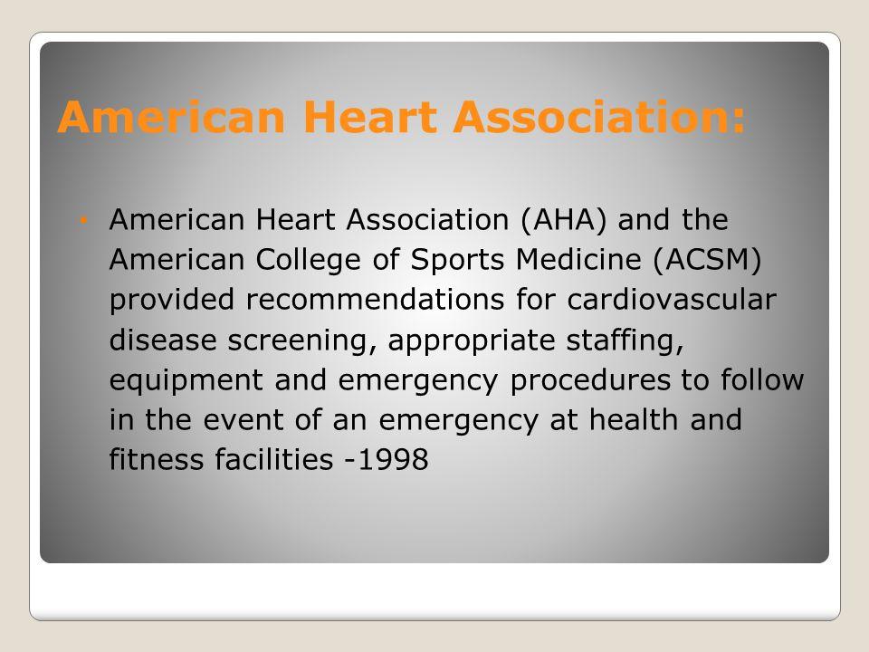 American Heart Association: