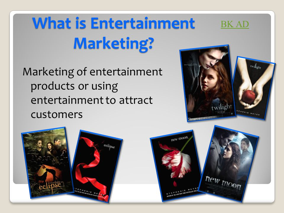 What is Entertainment Marketing