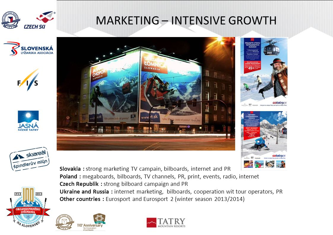 MARKETING – INTENSIVE GROWTH