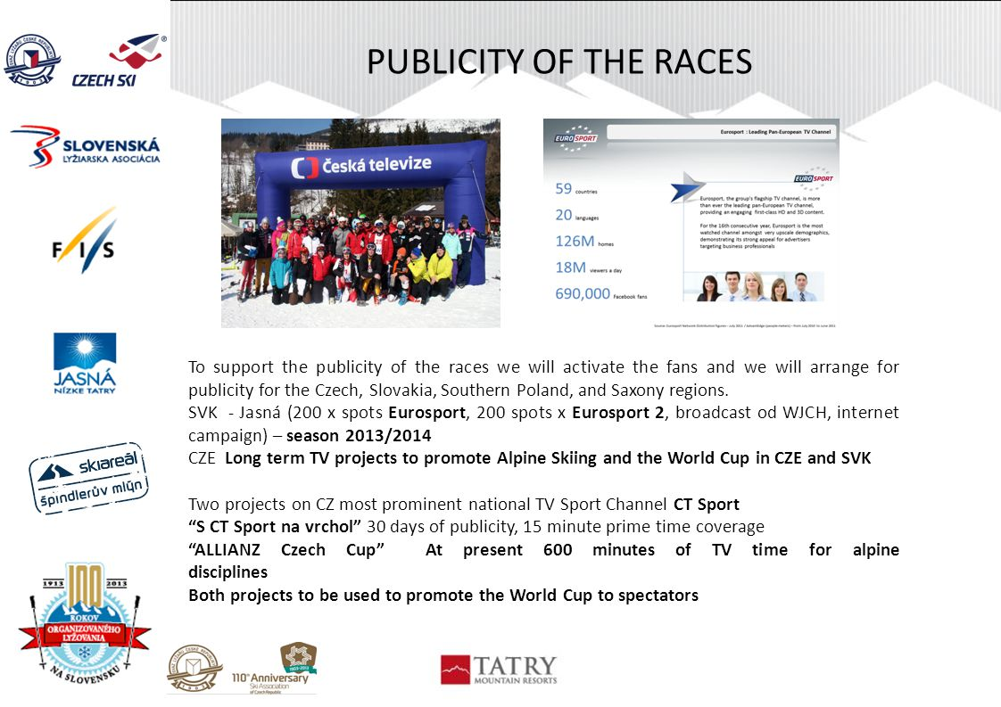 PUBLICITY OF THE RACES
