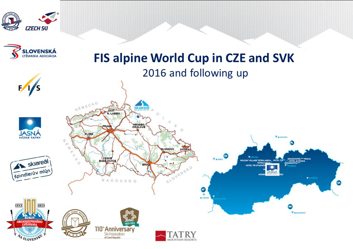 FIS alpine World Cup in CZE and SVK