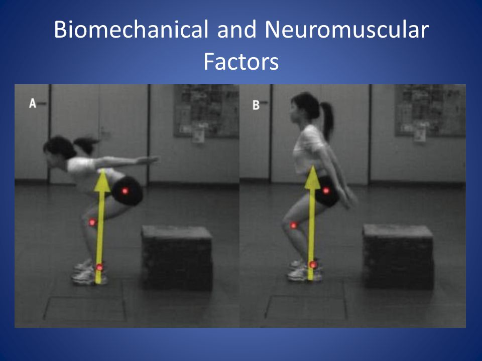 Biomechanical and Neuromuscular Factors
