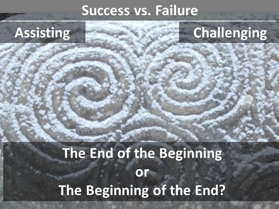 The End of the Beginning The Beginning of the End