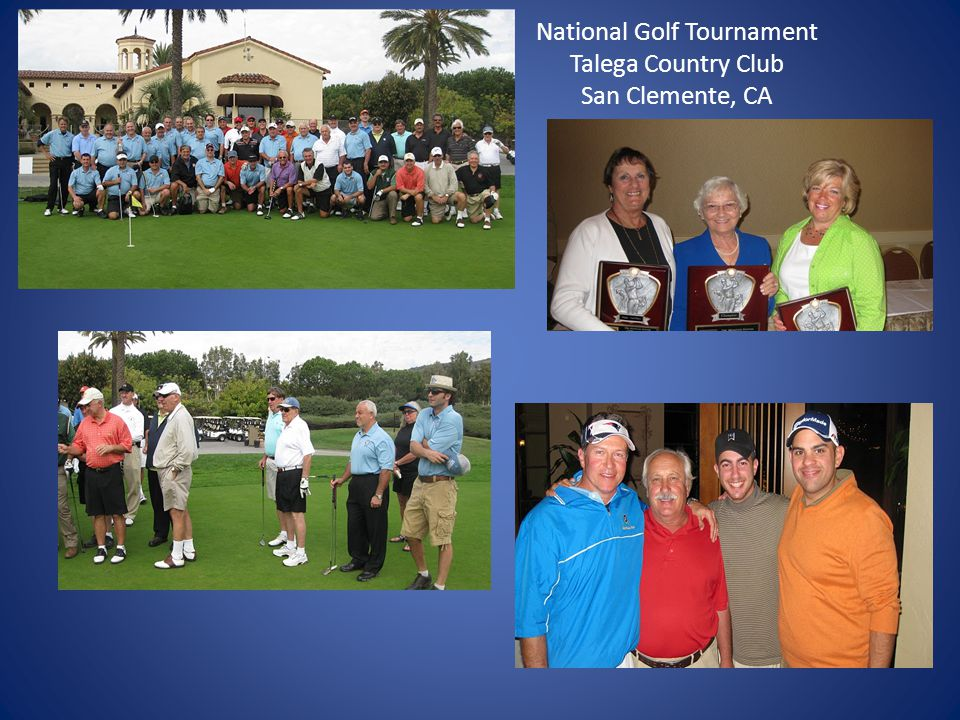 National Golf Tournament Talega Country Club San Clemente, CA