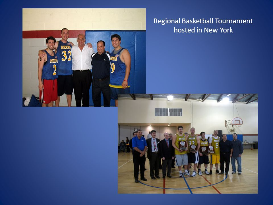 Regional Basketball Tournament hosted in New York
