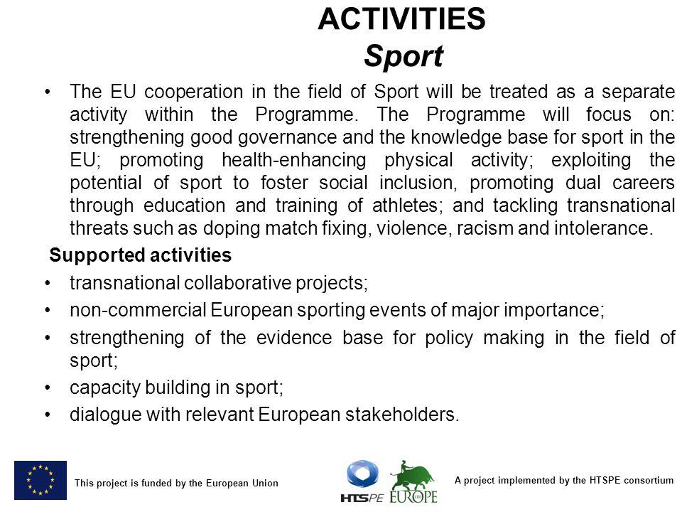 ACTIVITIES Sport
