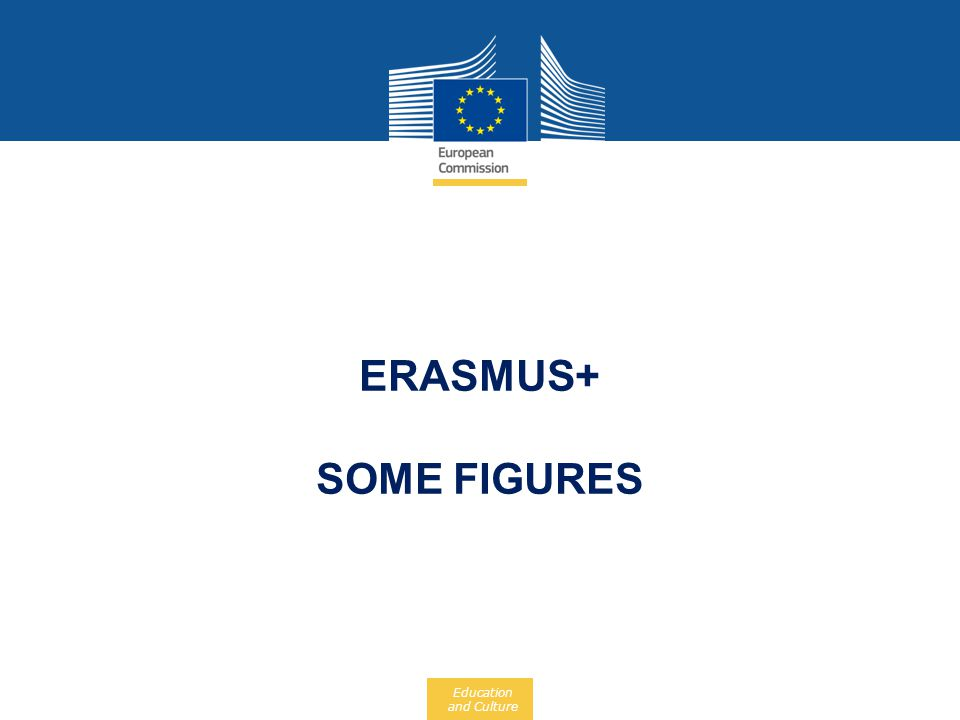 Erasmus+ Some figures