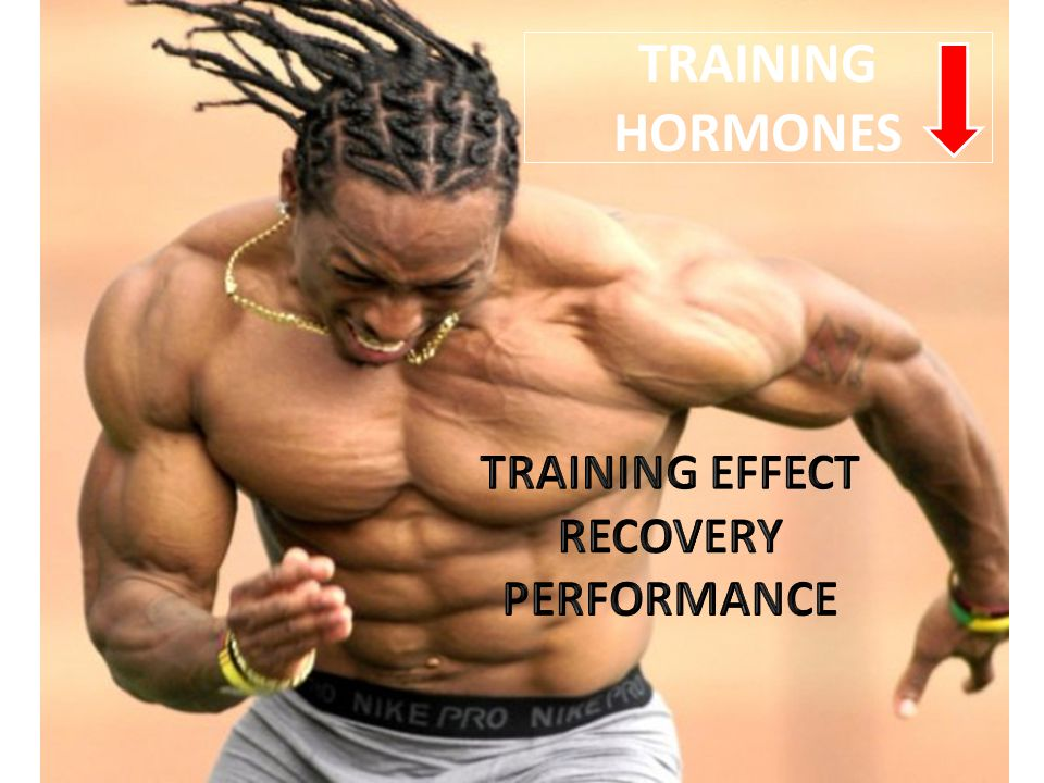 TRAINING HORMONES TRAINING EFFECT RECOVERY PERFORMANCE
