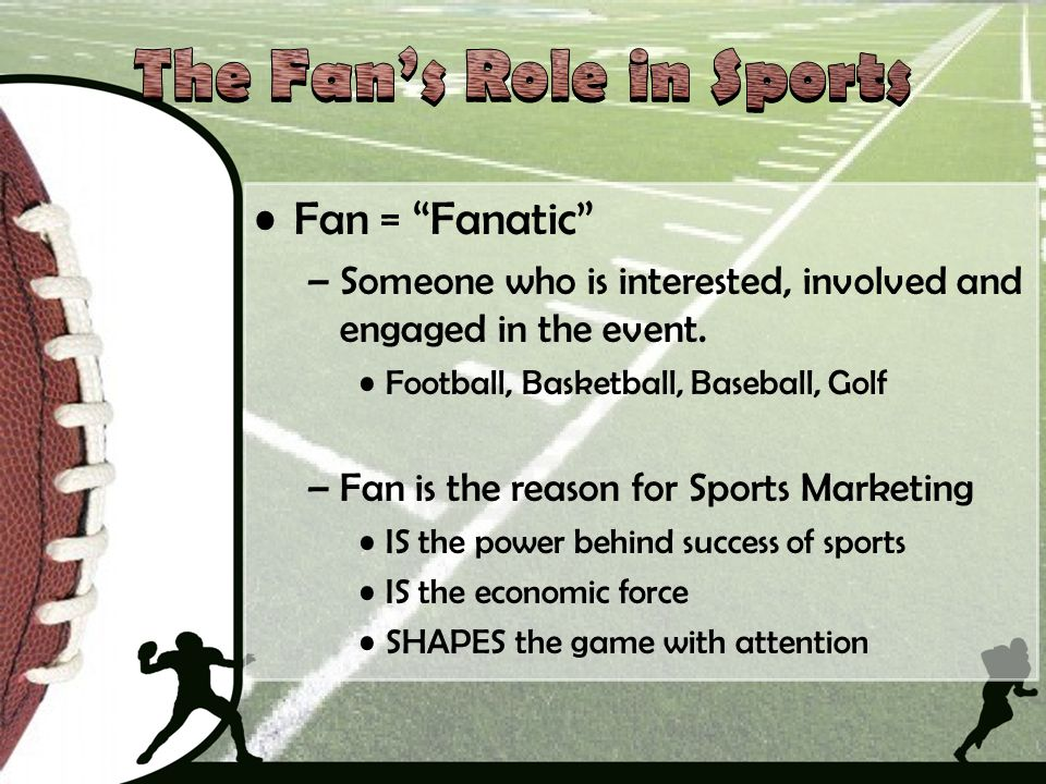 The Fan's Role in Sports