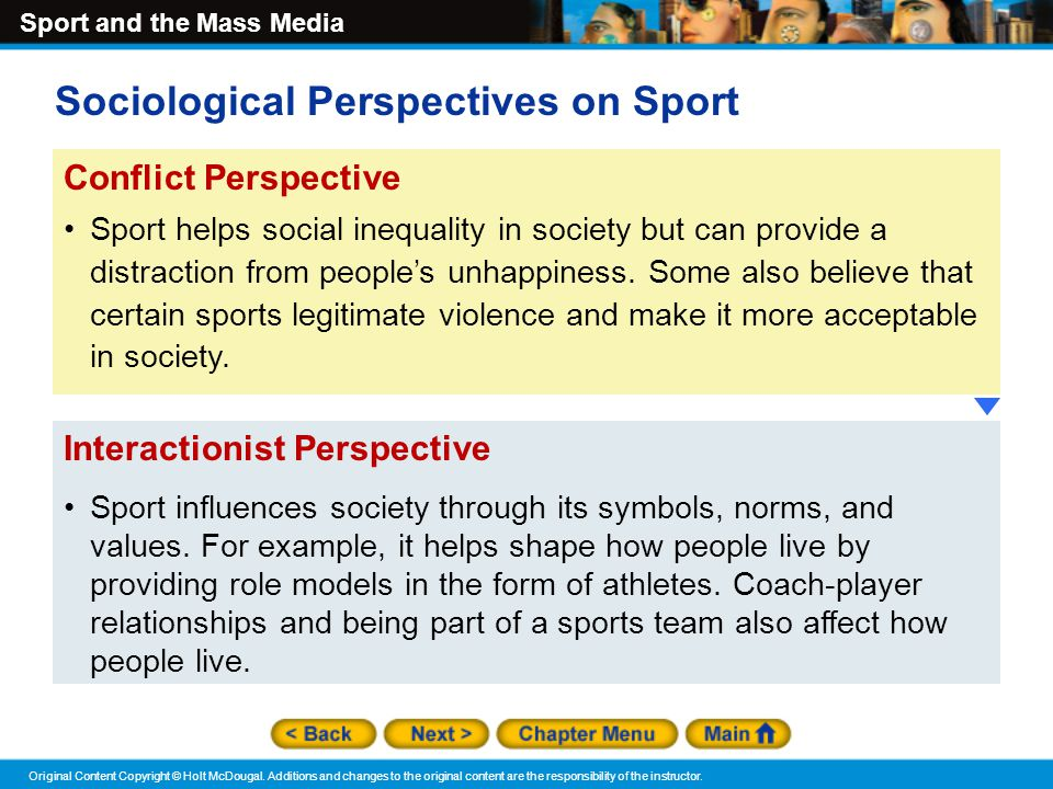 theoretical perspectives in the sociology of sport Sociological theories of sport theoretical perspectives of sociology - theoretical perspectives of sociology how we influence others sociological imagination.