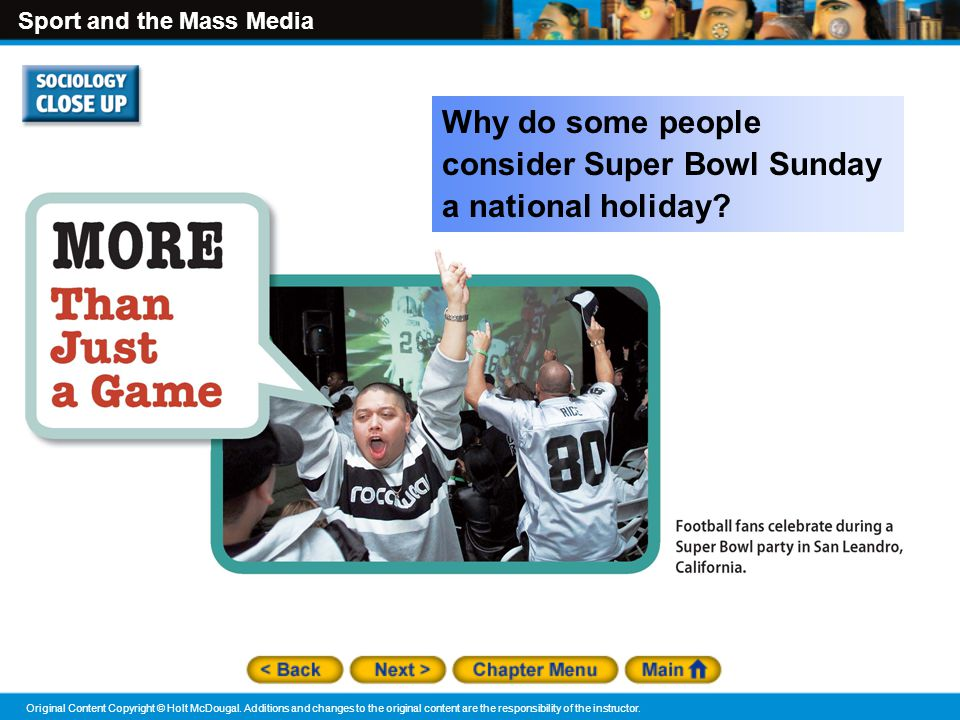 Why do some people consider Super Bowl Sunday a national holiday
