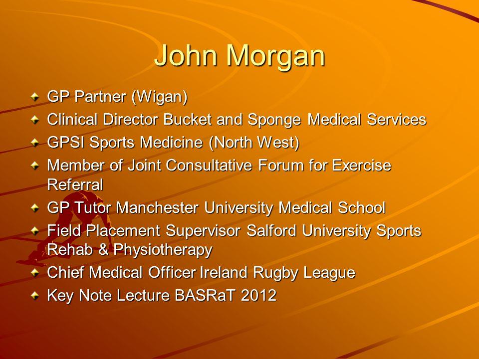 John Morgan GP Partner (Wigan)