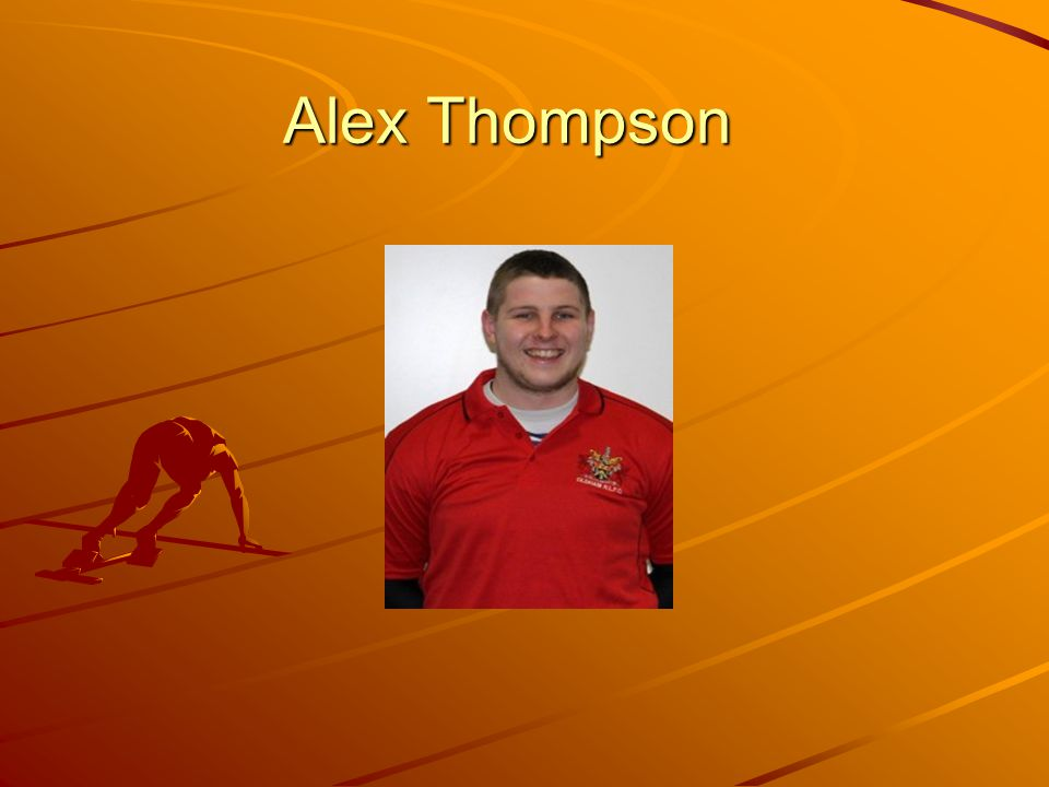 Alex Thompson