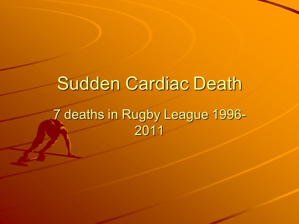 7 deaths in Rugby League 1996-2011