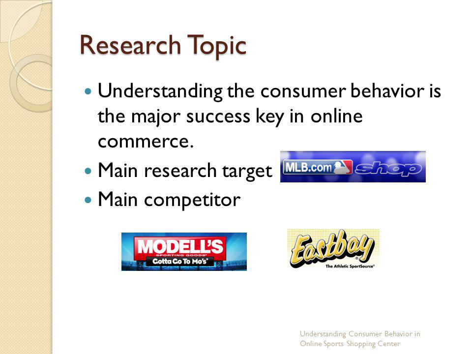 consumer behavior topics for research Ers research in this topic area focuses on the economic, social, spatial, temporal  see the nhanes 2011-12 flexible consumer behavior survey.