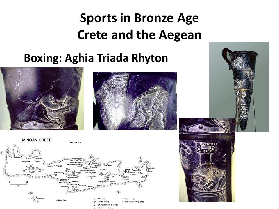 Sports in Bronze Age Crete and the Aegean