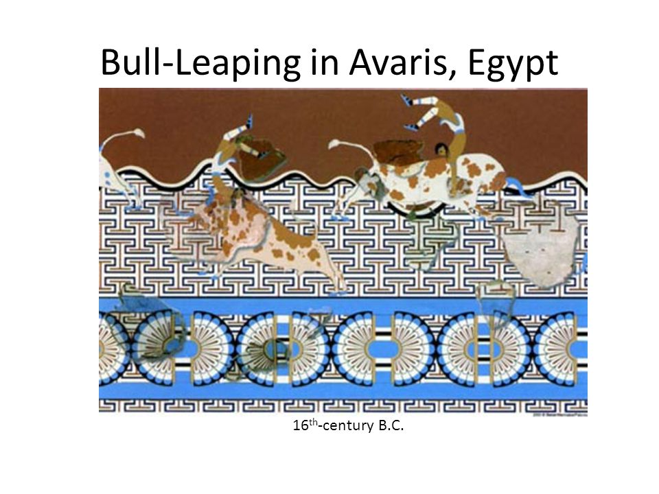 Bull-Leaping in Avaris, Egypt