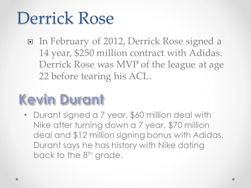 Derrick Rose Kevin Durant