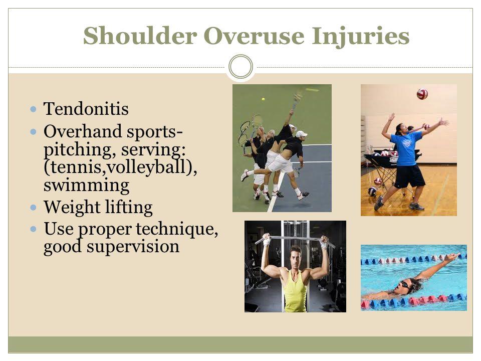 Shoulder Overuse Injuries