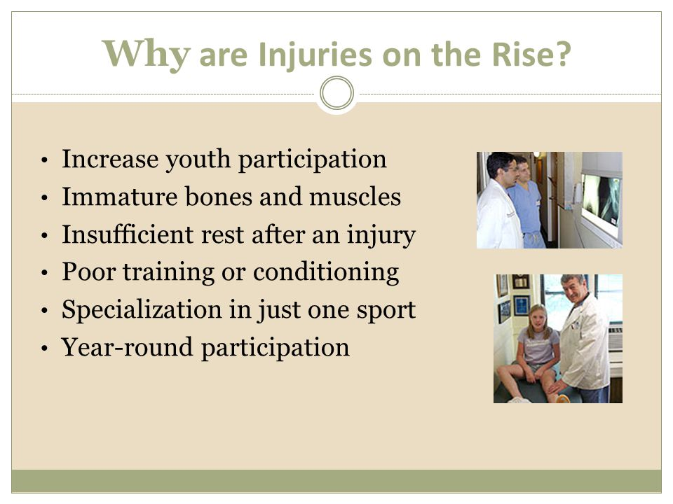 Why are Injuries on the Rise