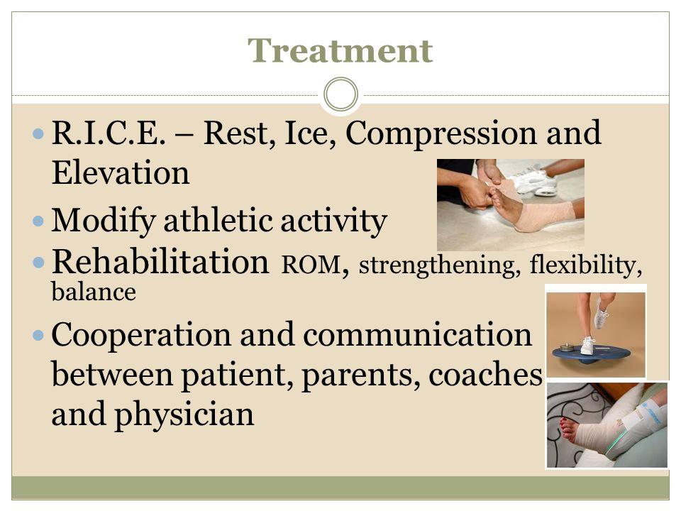 Rehabilitation ROM, strengthening, flexibility, balance