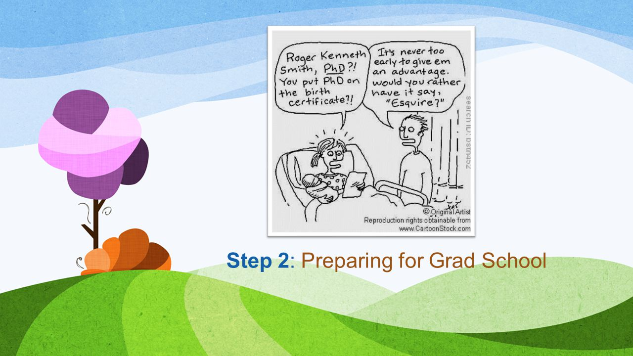 Step 2: Preparing for Grad School