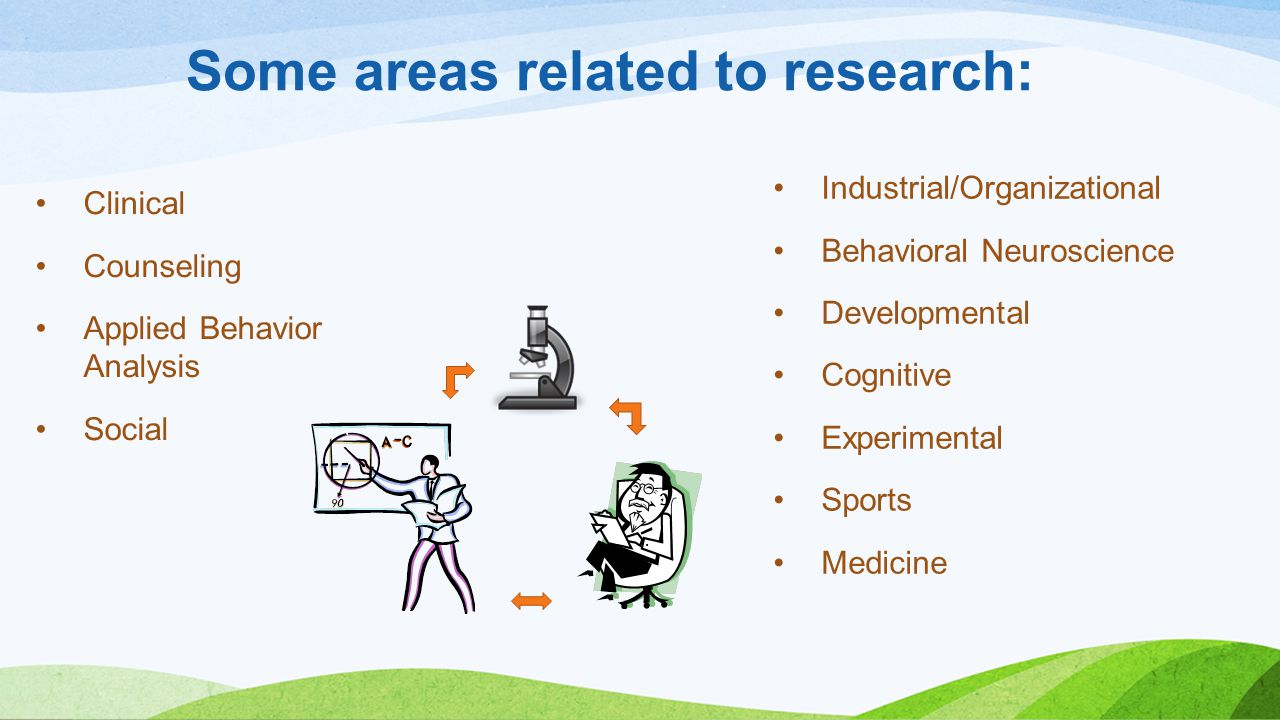 Some areas related to research: